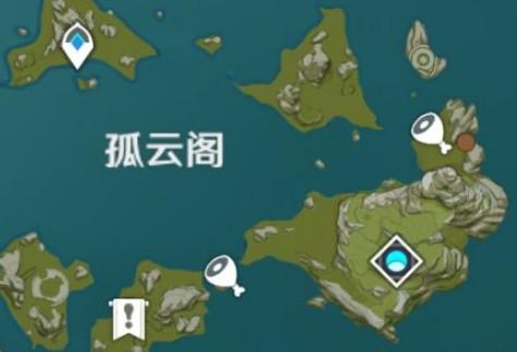 原神螃蟹分布