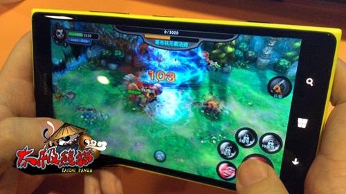 《太极熊猫》是蜗牛第一款arpg手游产品wp版和大屏版的推...